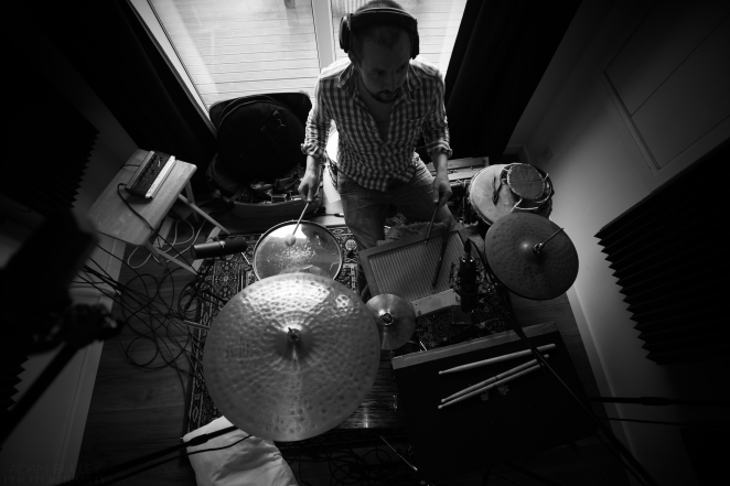 Recording Carrie Bully's Album @ Grans House Studio © Adam Bulley
